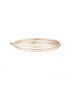 Bracelet Instant d'or Sincérité Or Jaune 375/1000 et oxyde de zirconium