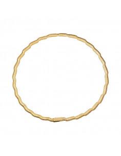 Bracelet Instant d'or Me And You Or Blanc 375/1000 et oxyde de zirconium
