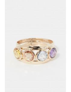 """Bracelet """"Lettre E Golden"""""""